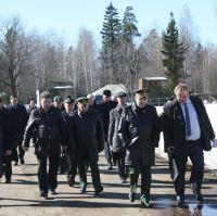 Демонстрационные стрельбы на Красноармейском полигоне